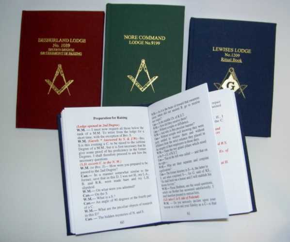 Freemasonry for Masonic craft ritual book